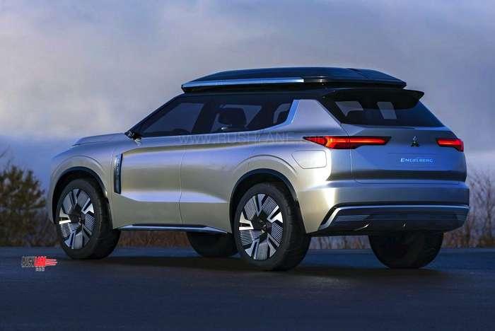 Mitsubishi Engelberg Tourer Suv Concept Debuts To