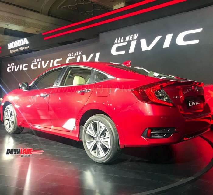 2019 Civic Sedan Restyled Sporty Design: Honda Civic Launch Price Rs 17.7 L To Rs 22.3 L