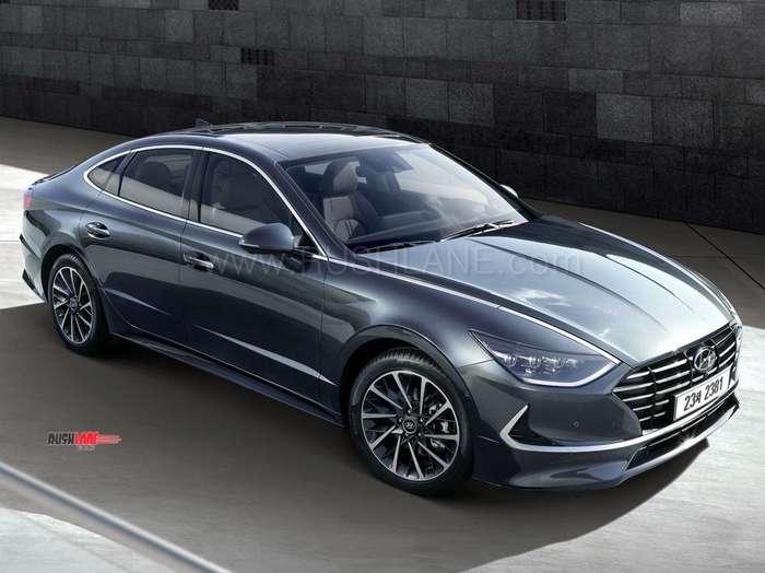 New Hyundai Sonata >> New Hyundai Sonata makes global debut with sporty coupe design