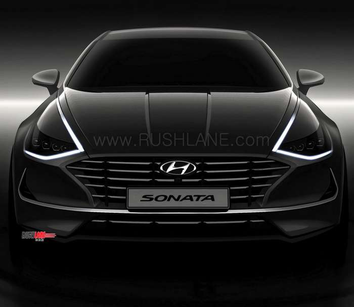 New Hyundai Sonata Makes Global Debut With Sporty Coupe Design