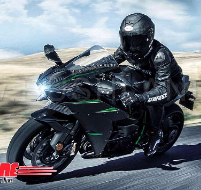 Kawasaki Ninja H2r >> 2019 Kawasaki Ninja H2R worth Rs 72 L - 1st and only ...