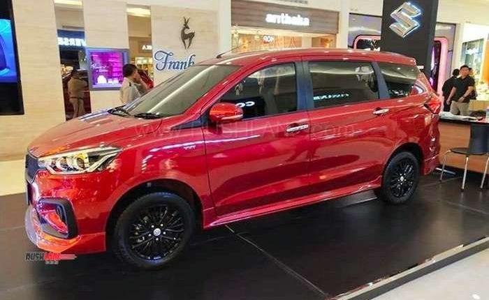 2019 Maruti Ertiga Based Sportier Suzuki Ertiga Gt Debuts