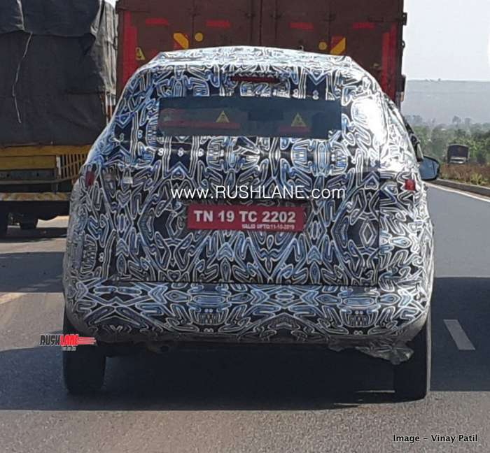 Renault RBC 7 Seater MPV For India Spied