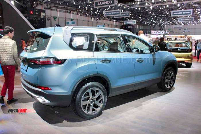 Tata Buzzard 7 Seater Harrier Suv With 3 Rows To Take On Mahindra