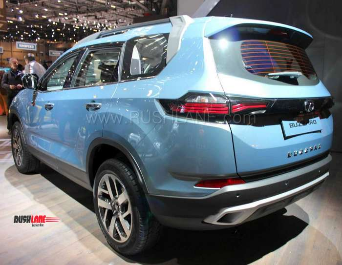 Tata Buzzard 7 seater Harrier SUV with 3 rows to take on ...
