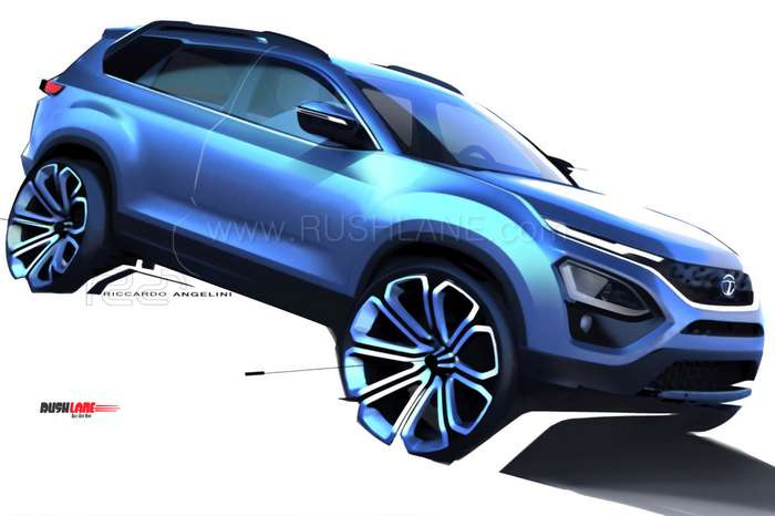 Tata Buzzard SUV first official sketches - By Tata Design ...