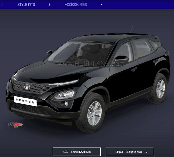Tata Harrier Black