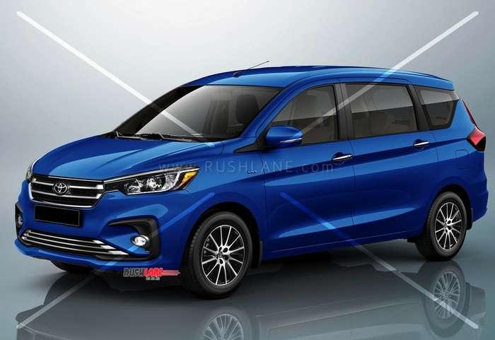Toyota Ertiga Will Be A Premium Mpv Sit Below Innova