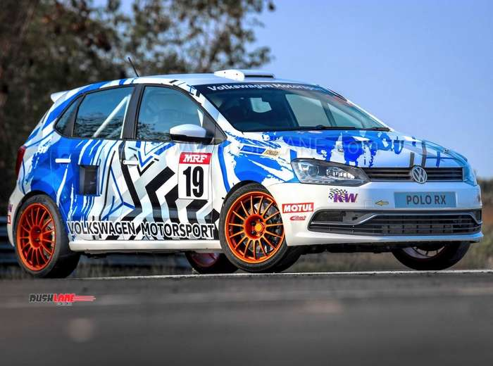 Volkswagen Polo with 205 PS engine in the boot - Special