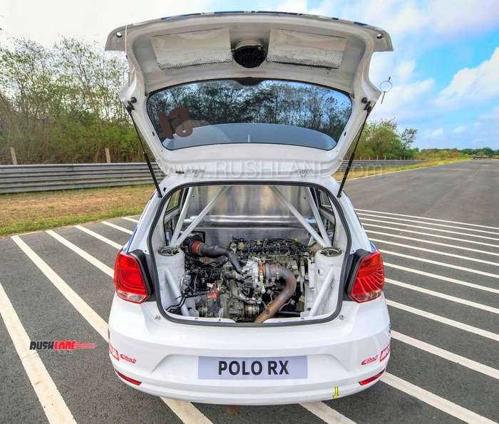 Vw Polo 6n Supercharger Kit: Volkswagen Polo With 205 PS Engine In The Boot