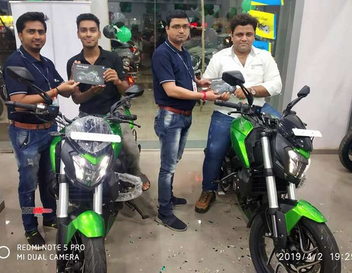 2019 Bajaj Dominar sales