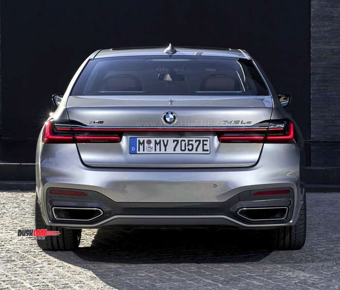 2019 BMW 7 Series Facelift Spied In India