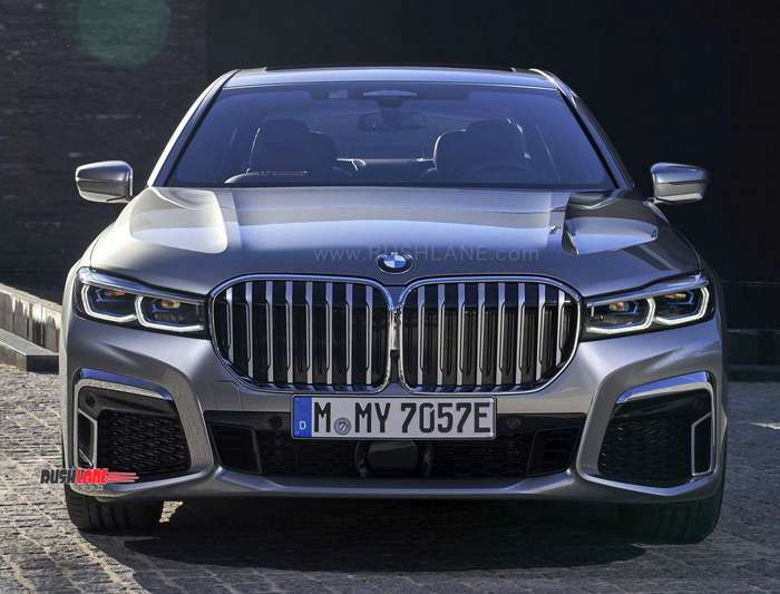 2019 Bmw 7 Series Facelift Spied In India Features Largest Bmw