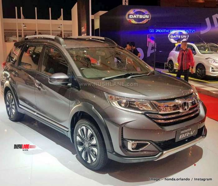 2019 Honda Brv Facelift Makes Global Debut May Launch In India