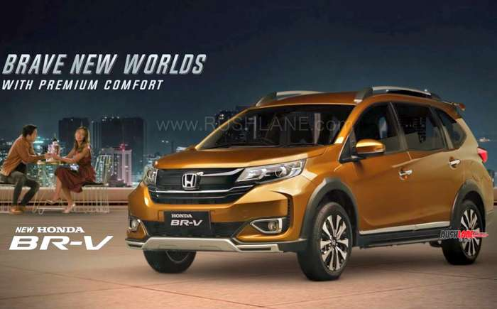 2019 Honda BRV Facelift