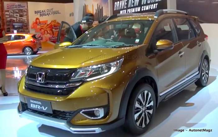 New Honda BR-V With Updated Exteriors And Interiors
