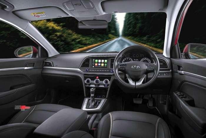 India Bound 2019 Hyundai Elantra Facelift Debuts In