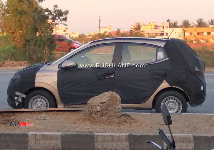 2019 Hyundai Grand i10 longer than before - Spied in new