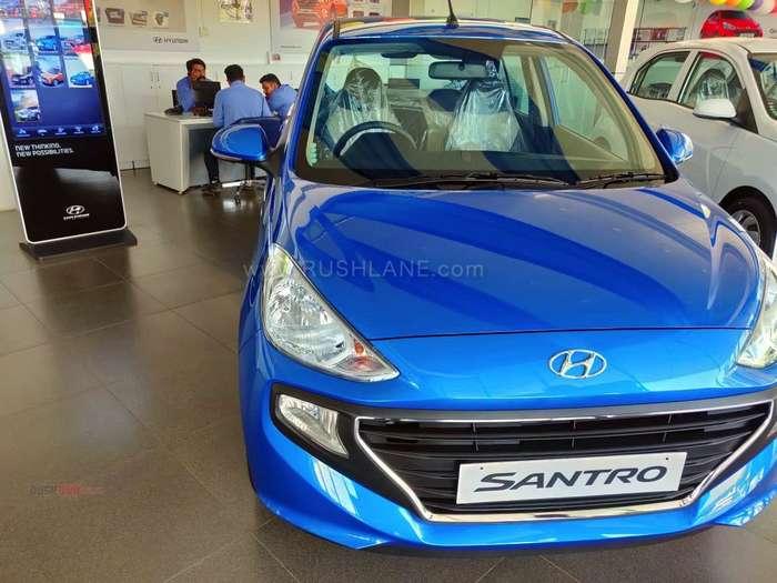 Hyundai Santro discounts