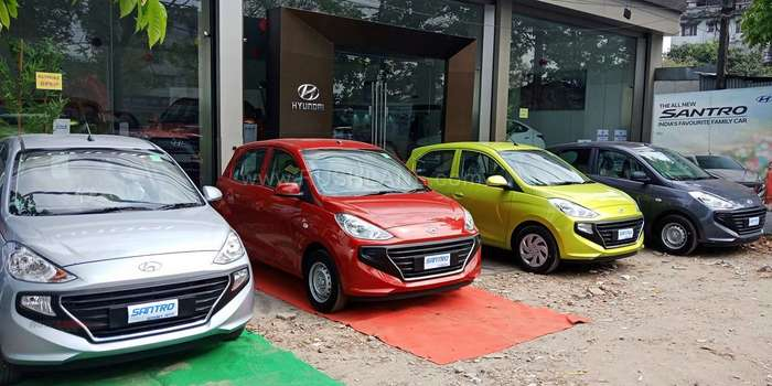 Hyundai Santro sales