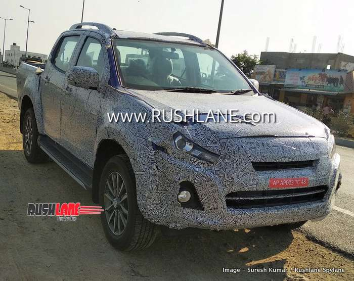 Isuzu BS6 on test