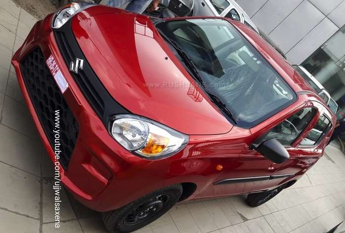new maruti alto bs6 launch price rs 294 l rs 13k more