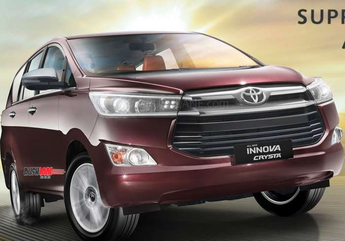 New Toyota Fortuner, Innova Crysta launch - Price increased