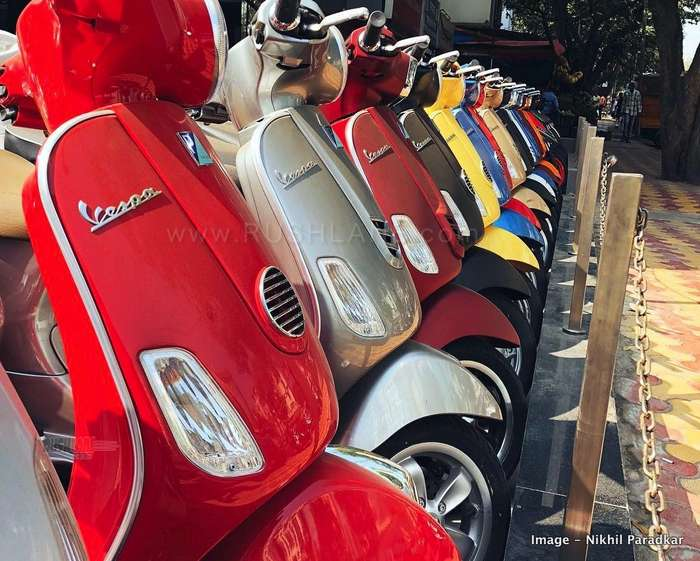 Vespa aprilia prices old new