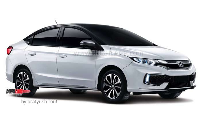2020 Honda City New Gen Rendered Longer Wider Than
