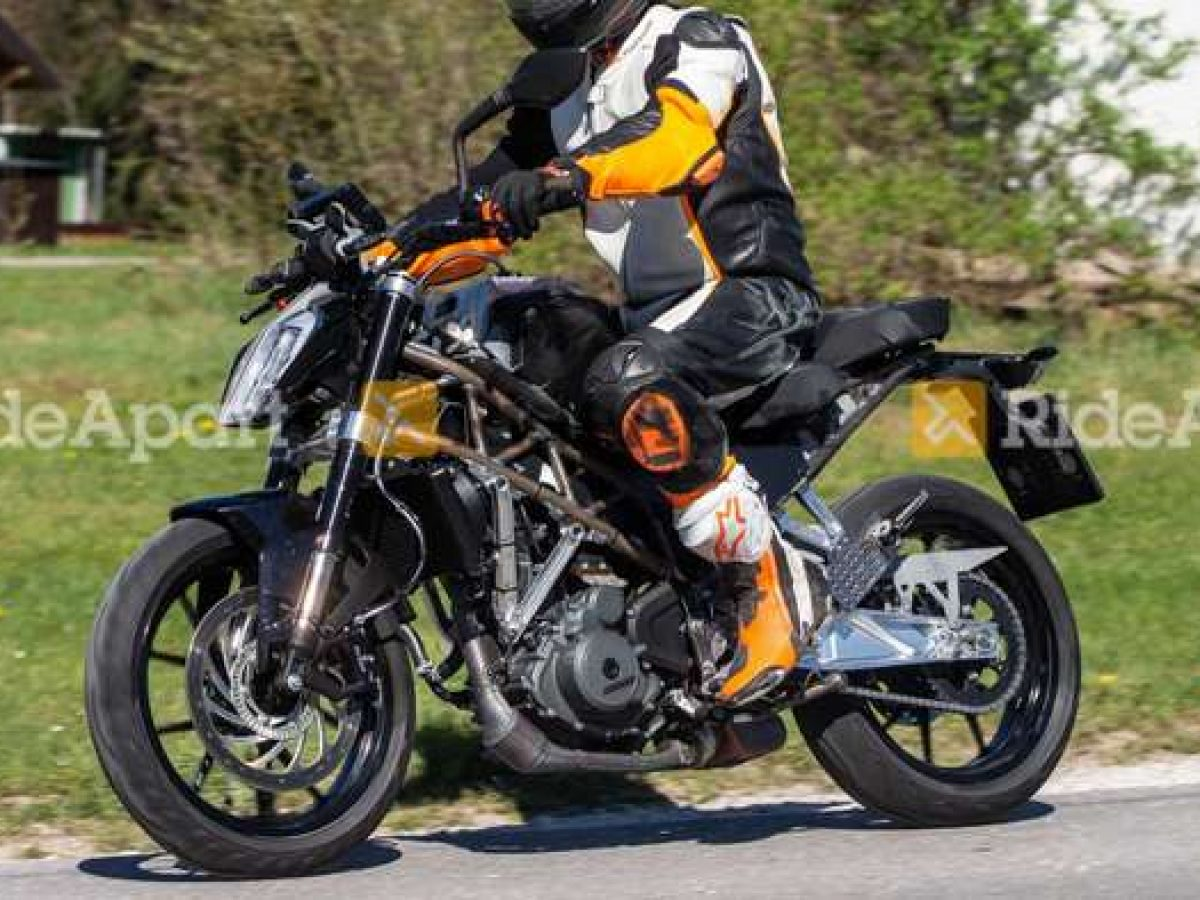 2020 Ktm Duke 390 Spied Testing For 1st Time Bigger And More Powerful