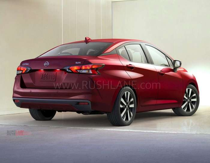 2020 Nissan Sunny Sedan Debuts India Launch Next Year
