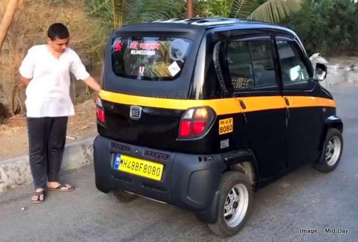 Bajaj Qute taxi