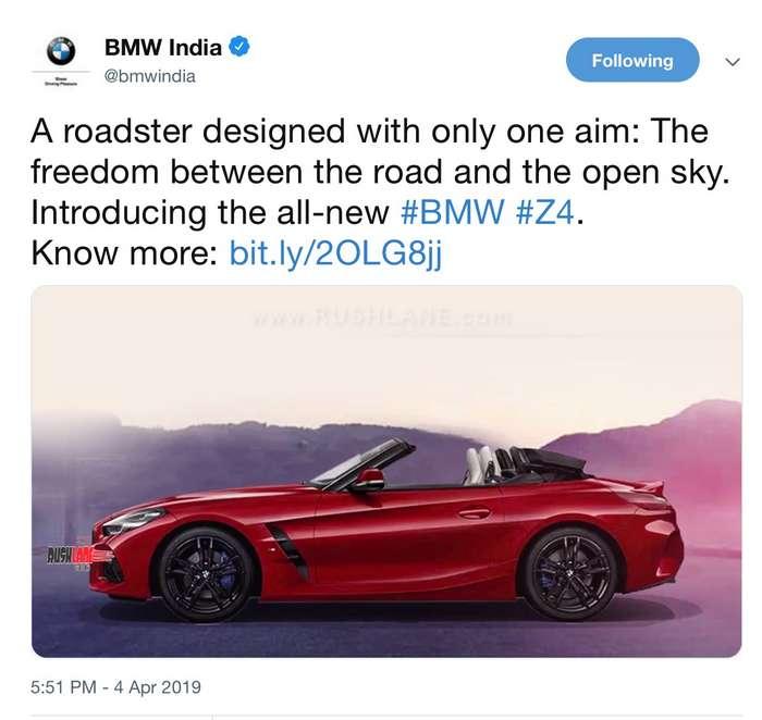 Bmw Z4 India Review: BMW India Q1 2019 Sales Grow 19 Percent