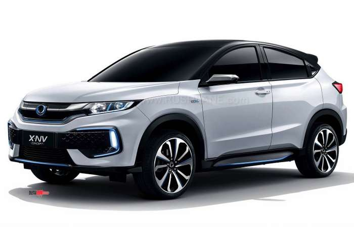 Mass Auto Sales >> Honda XNV Electric Concept Debuts - Based on HRV SUV