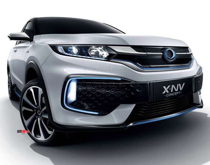 Honda Has Unveiled The Xnv Concept At 2019 Shanghai Auto Show This Is A Version Of Production Spec Xrv Which Also Known As Vezel Hrv In