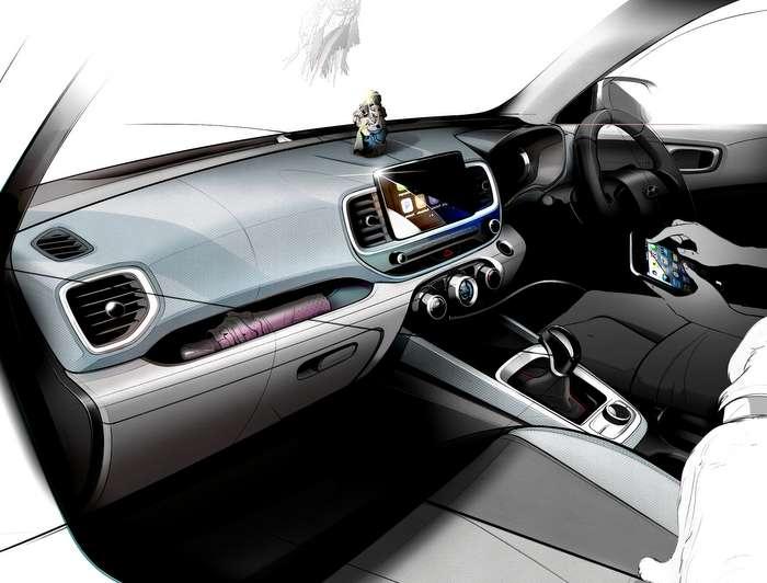 Hyundai Venue Suv Unveil On April 17 2019 Design