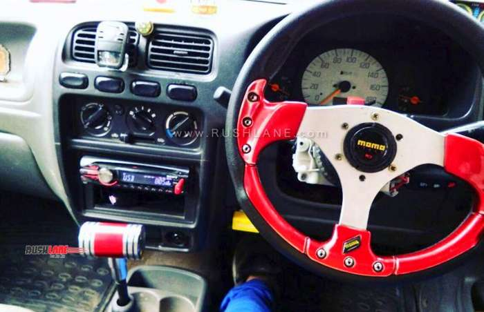 Maruti Alto 800 modified at a cost of Rs 3 5 lakhs, does 200 kmph
