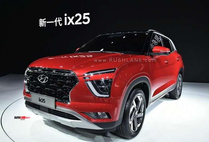 2020 Hyundai Creta Bs6 Spied In India Similar To New