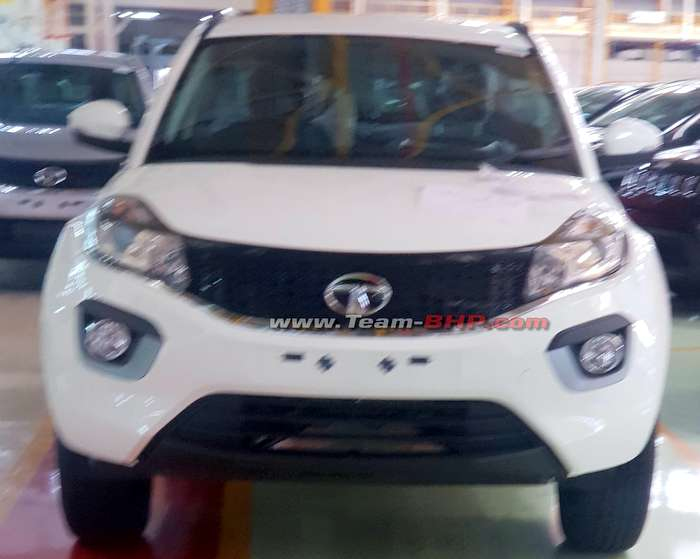 2020 Tata Nexon electric spied for the first time – Auto Expo debut? - RushLane