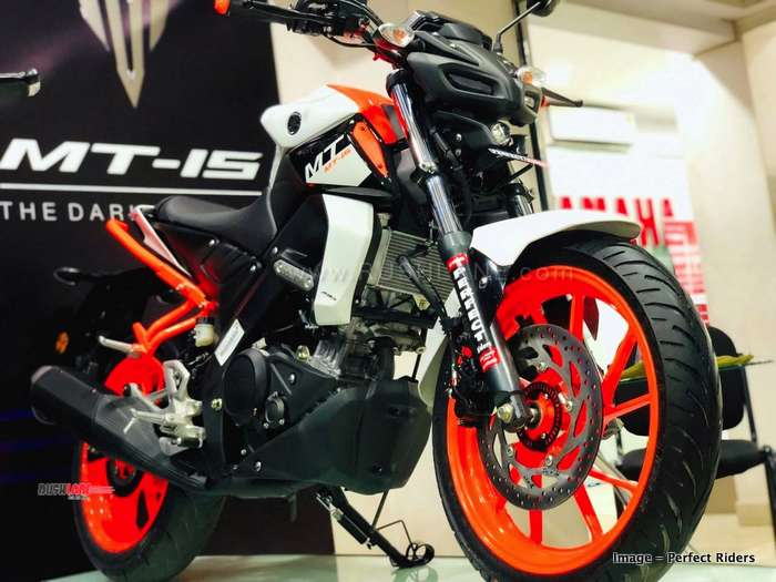 Yamaha Mt15 Gets Ktm Duke Inspired Mod Job At Rs 25k Rto