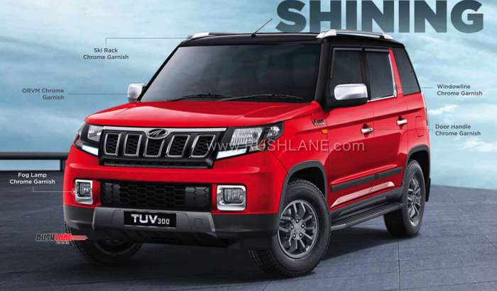 2019 Mahindra Tuv300 Official Accessories Detailed Via