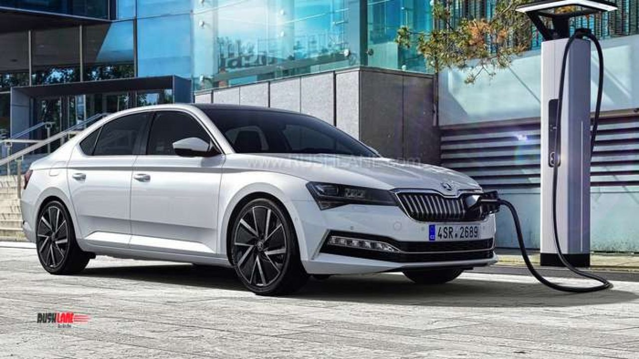 2019 Skoda Superb Facelift Makes Global Debut Gets Hybrid Option