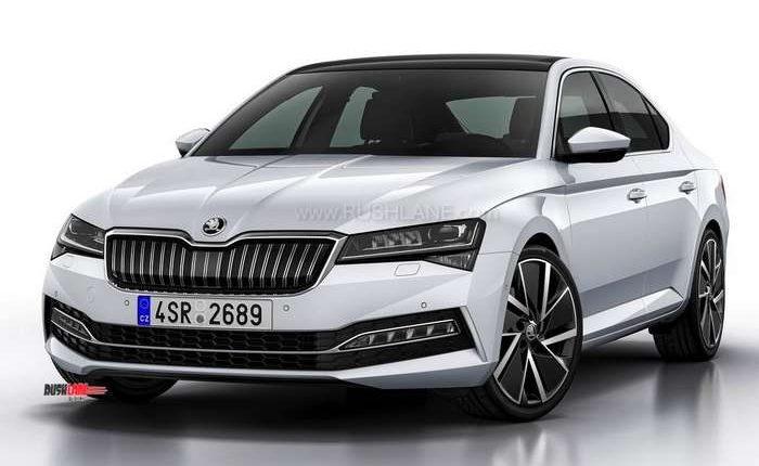2019 Skoda Superb facelift
