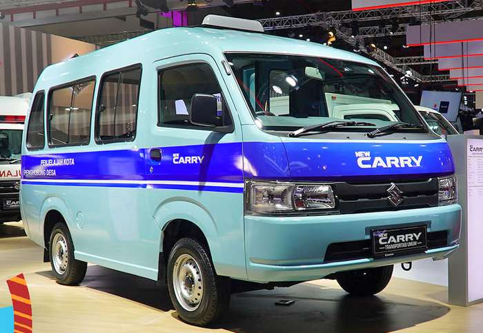 2019 Suzuki Carry Debuts With 1.5L Petrol Engine In New