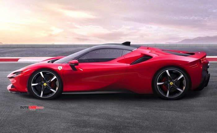 2020 Ferrari hybrid sportscar SF90 Stradale