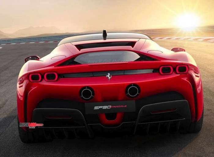 Ferrari Hybrid Sportscar Makes Global Debut