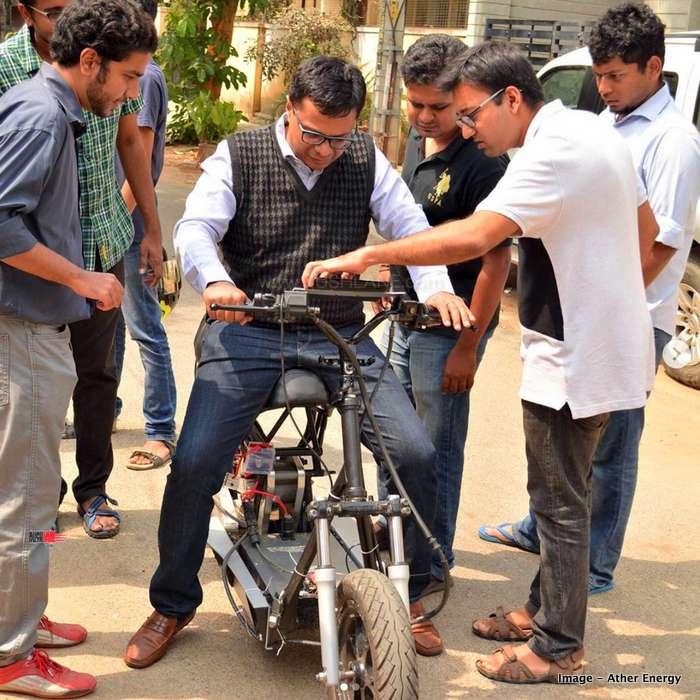 Ather funding Sachin Bansal Flipkart