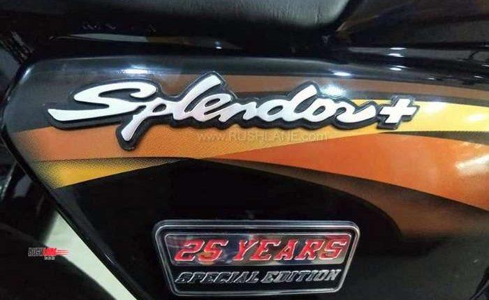 Hero Splendor 25 years special edition