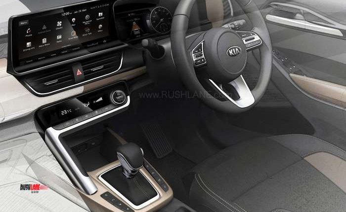 Kia SP interiors