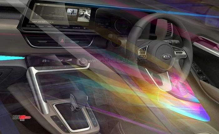 Kia SP interiors